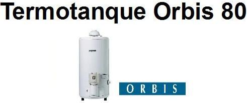 Termotanque Orbis 80 Lts Pie Entrega S Cargo Caba Y Gba