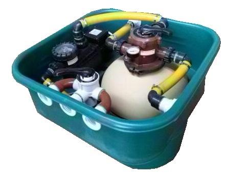 Tusta instalaciones soluciones para el confort for Filtros de agua para piscinas